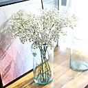 Χαμηλού Κόστους Ψεύτικα Λουλούδια-Ψεύτικα λουλούδια 5 Κλαδί Ευρωπαϊκό Στυλ Γυψόφυλλο Λουλούδι για Τραπέζι