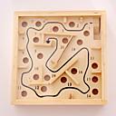 billiga Labyrinter och logikspel-Brädspel Leksaker Fyrkantig Trä Bitar Unisex Present