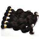 Χαμηλού Κόστους Εξτένσιος μαλλιών με φυσικό χρώμα-Βραζιλιάνικη Κυματομορφή Σώματος Φυσικά μαλλιά Υφάνσεις ανθρώπινα μαλλιών Υφάνσεις ανθρώπινα μαλλιών Hot Πώληση Επεκτάσεις ανθρώπινα μαλλιών