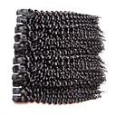 billiga Fläta av remy-människohår-Äkta hår Lockigt Peruanskt hår 1000 g Längre än ett år