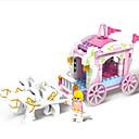 ราคาถูก บล็อกอาคาร-รถของเล่น Building Blocks ของเล่นชุดก่อสร้าง ของเล่นการศึกษา 1 pcs ปราสาท การขนส่ง Horse เด็กผู้ชาย เด็กผู้หญิง Toy ของขวัญ