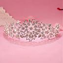 billiga Modeörhängen-Bergkristall / Legering Tiaras / pannband med 1 Bröllop / Speciellt Tillfälle / Födelsedag Hårbonad