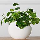 baratos Flores Artificiais & Vasos-Flores artificiais 1 Ramo Pastoril Estilo Plantas Flor de Mesa