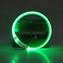 billiga Kragar, selar och koppel-Hund Halsband LED Lampor Justerbara / Infällbar Laddningsbart Enfärgad TPU Grön Blå Rosa