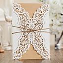 povoljno Pozivnice za vjenčanje-Zamotajte & Pocket Vjenčanje Pozivnice 20 - Pozivnice Classic Style Reljefni papir