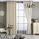 billiga Mörkläggningsgardiner-Samtida mörkläggningsdraperier gardiner två paneler vardagsrum jacquard