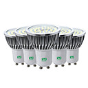 baratos Lâmpadas LED de Foco-Ywxlight® 5 pcs gu10 7 w 2835smd lâmpada led spot light ac 85-265 v branco quente legal branco natural branco led spotlight lâmpada lâmpada para iluminação de casa