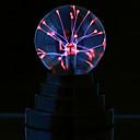 ราคาถูก สายไฟ LED-ลูกพลาสมามายากลเด็กห้องตกแต่งบุคคลทรงกลมไฟฉายของขวัญแสงประกาย luminaria สัมผัสพลาสมาลูกโคมไฟโคมไฟทรงกลมไฟฟ้าสถิต