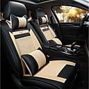 ราคาถูก วิกผมสังเคราะห์-Car Seat Covers ที่นั่งครอบคลุม ผ้าขนสัตว์สีธรรมชาติ ผ้า Ice Silk ธุรกิจ สำหรับ Universal