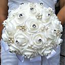 """ราคาถูก เครื่องประดับผมสำหรับงานปาร์ตี้-ดอกไม้สำหรับงานแต่งงาน ช่อดอกไม้ งานแต่งงาน ลูกปัด / โฟม 9.84""""(ประมาณ 25ซม.)"""