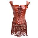 Χαμηλού Κόστους Τσαντάκια & Βραδινές Τσάντες-Γυναικεία Κορσές Φόρεμα Φούστες - Μονόχρωμο Καφέ Ρουμπίνι XXXXL XXXXXL XXXXXXL / Σούπερ Σέξι