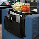 זול מדפי מקלחת-לתלות בצד הספה שקית אחסון טלפונים סלולריים שלט רחוק מחזיק תיק אחסון מארגן כורסה הספה אחסון שקיק