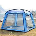 ราคาถูก เต้นท์และเต้นท์ผ้าใบกันแดด-Trackman® 4 คน useless กลางแจ้ง กันน้ำฝน Dust Proof ที่สามารถพับได้ เดี่ยว เต็นท์แคมปิ้ง 1500-2000 mm สำหรับ แคมป์ปิ้ง & การปีนเขา กลางแจ้ง ไนลอน Polyester Taffeta