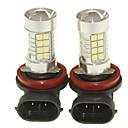 זול מנורות ערפל לרכב-SENCART 2pcs PGJ19-1 מכונית נורות תאורה 36W SMD 3030 1500-1800lm נורות לד אורות ערפל