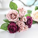 povoljno Umjetno cvijeće-Umjetna Cvijeće 1 Podružnica Europska Style Roses Cvjeće za stol