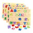 Χαμηλού Κόστους Αξεσουάρ μαλλιών-Τουβλάκια Παζλ Μαθηματικά παιχνίδια Numbăr Γράμμα Ξύλινος Παιδικά Αγορίστικα Κοριτσίστικα Παιχνίδια Δώρο