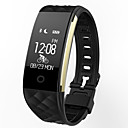 billige Smartklokker-s2 smart watch bt 4.0 fitness tracker støtte varsle vanntett buet skjerm sport armbånd for samsung / sony android telefoner og iphone