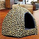 זול מיטות כלבים & שמיכות-כלב משטח למזרן מיטות שמיכות מיטה כותנה חיות מחמד סלסלות כחול ורוד נמר