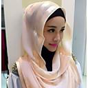povoljno Hijab-Žene Jednobojni Osnovni Hijab