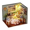 ราคาถูก บ้านตุ๊กตา-DIY อาคารที่มีชื่อเสียง เฟอร์นิเจอร์ บ้าน ทำด้วยไม้ สำหรับเด็ก เด็กผู้หญิง Toy ของขวัญ