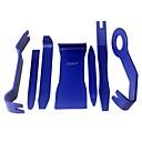 billiga Reparationsverktyg-ziqiao 7st / set bil öppet verktyg dörrklämpanel trim borttagning verktygssatser bil dash radio ljud installatör pry verktyg