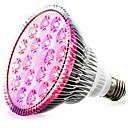 billige LED Økende Lamper-1pc 18 W Voksende lyspære 1620-1800 lm E26 / E27 18 LED perler Høyeffekts-LED Rød Blå 85-265 V / 1 stk. / RoHs / FCC