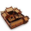 ราคาถูก จิ๊กซอว์3D-3D-puslespill Puslespill แบบไม้ อาคารที่มีชื่อเสียง บ้าน ทำด้วยไม้ ไม้ธรรมชาติ ทุกเพศ Toy ของขวัญ