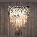 billiga Hängande belysning-5-Light Hängande lampor Glödande Silver Metall Kristall, Ministil, Glödlampa inkluderad 110-120V / 220-240V Varmt vit / Kall vit Glödlampa inte inkluderad