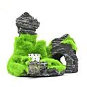 Χαμηλού Κόστους Αντλίες & Φίλτρα-Ενυδρείο ψαριών Διακόσμηση Ενυδρείου Γυάλα για Ψάρια Στολίδια Πέτρες Rock Outcrop Ρητίνη 11*5.5*9.5 cm