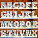 povoljno Svadbeni ukrasi-led slova svjetla znak 26 slova abeceda svjetlo slova znak za noćno svjetlo vjenčanje rođendanska zabava baterija napajanje božićna svjetiljka ukras za dom
