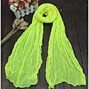 ราคาถูก กระเป๋าถือ-สำหรับผู้หญิง สีพื้น ฝ้าย ผ้าพันคอสี่เหลี่ยมผืนผ้า