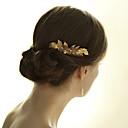 povoljno Party pokrivala za glavu-Drago kamenje i kristali / Til / Legura Kose za kosu / Cvijeće / Headpiece s Kristal / Perje 1 Vjenčanje / Special Occasion / godišnjica Glava