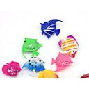Χαμηλού Κόστους Διακόσμηση &Χαλίκια Ενυδρείου-Ενυδρείο ψαριών Διακόσμηση Ενυδρείου Ψάρια Τεχνητό ψάρι Τυχαίο Χρώμα Διακοσμητικό Πλαστική ύλη 3.5-4 cm