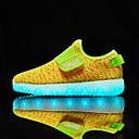 Χαμηλού Κόστους LED Παπούτσια-Αγορίστικα LED / Ανατομικό / Svítící podrážky Πλεκτό / Πλέγμα που αναπνέει Αθλητικά Παπούτσια Τα μικρά παιδιά (4-7ys) / Μεγάλα παιδιά (7 ετών +) Ταινία Δεσίματος / LED Μαύρο / Dusty Rose / Πορτοκαλί