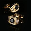 Χαμηλού Κόστους Μανικετόκουμπα Ανδρικά-Geometric Shape Χρυσαφί Butoni Δώρο Κουτιά & Τσάντες / Μοντέρνα Ανδρικά Κοστούμια Κοσμήματα Για
