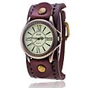 ราคาถูก อุปกรณ์เสริมสำหรับ Mac-สำหรับผู้ชาย นาฬิกาสร้อยข้อมือ นาฬิกาอิเล็กทรอนิกส์ (Quartz) หนัง ดำ / สีขาว / ฟ้า นาฬิกาใส่ลำลอง ระบบอนาล็อก สุภาพสตรี วินเทจ ไม่เป็นทางการ แฟชั่น สง่างาม - แดง สีเขียว ฟ้า / หนึ่งปี / SSUO LR626