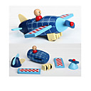 cheap Magnetic Building Blocks-Magnetic Blocks Magnetic Tiles Building Blocks Plane / Aircraft Car Helicopter Fun Classic Helicopter Unisex Boys' Girls' Toy Gift