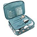 ราคาถูก กระเป๋าถือและกระเป๋าเดินทาง-สิ่งทอ / พลาสติก Oval บ้าน องค์กร, 1pc กระเป๋าเก็บของ