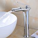 povoljno Miješalice Setovi-Set za slavinu - Waterfall Chrome Munkalapra szerelhető Jedan Ručka jedna rupaBath Taps
