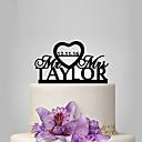 povoljno Party pokrivala za glavu-Figure za torte Klasični Tema / Vjenčanje plastika Vjenčanje / godišnjica s 1 pcs Poli Bag