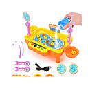 ราคาถูก กระเป๋าตกปลา-ของเล่นแม่เหล็ก ของเล่นตกปลา ของเล่นการศึกษา ปลา Magnetic Plastics สำหรับเด็ก Toy ของขวัญ 1 pcs