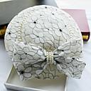 Χαμηλού Κόστους Καπέλα και Διακοσμητικά-Απομίμηση Μαργαριταριού / Δερμάτινο / Δαντέλα Γοητευτικά / Καπέλα με 1 Γάμου / Ειδική Περίσταση / Γενέθλια Headpiece