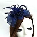 Χαμηλού Κόστους Λουλούδια Γάμου-Δίχτυ Γοητευτικά / Καπέλα / Καλύμματα Κεφαλής με Φλοράλ 1pc Γάμου / Ειδική Περίσταση Headpiece