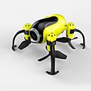 זול כלי שתייה-RC רחפן UDI RC i150hw 4CH 6 ציר 2.4G עם מצלמתHD 0.3MP RC Quadcopter WiFi FPV גובה החזקה חזרה על ידי כפתור אחד רכב המראה גישה בזמן אמת