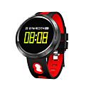 baratos Smartwatches-X9 VO Relógio inteligente Android iOS Bluetooth Esportivo Impermeável Monitor de Batimento Cardíaco Medição de Pressão Sanguínea Sensor de Humor Podômetro Controle Remoto Monitoramento de Atividade
