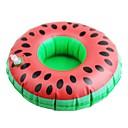 billige Ribbon & Streamer Leker-oppblåsbare leker vannmelon stil vann svømme ring coaster cup holder