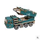 billiga Nagelstämpling-3D-pussel / Pussel Fordon / Militär Ny Design / GDS (Gör det själv) Trä Nutida Militärfordon Barn Present