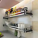 Χαμηλού Κόστους Ράφια & Στγρίγματα-1pc Έπιπλα μαγειρικής Κράμα Αλουμινίου Εύκολο στη χρήση Οργάνωση κουζίνας
