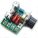 baratos Módulos-controlador de controle de velocidade do motor pwm ac 2000w regulagem de tensão ajustável