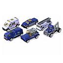 billiga Cykellyktor-1:64 Polisbil Leksakslastbilar och -byggmaskiner Leksaksbilar Barn bil leksaker